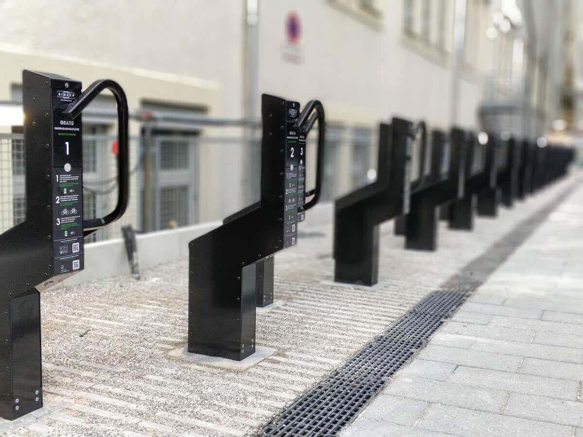 Betalings parkering af cykler