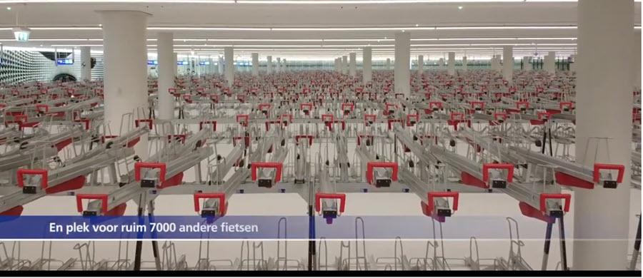 8.000 cykelparkeringer i Haag