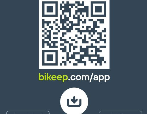 Download Bikeep app'en