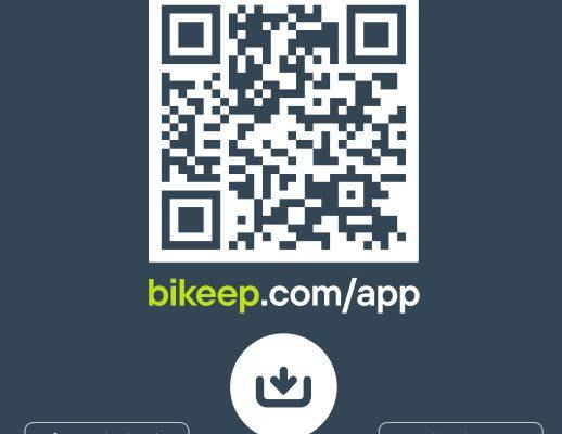 Download Bikeep app'en